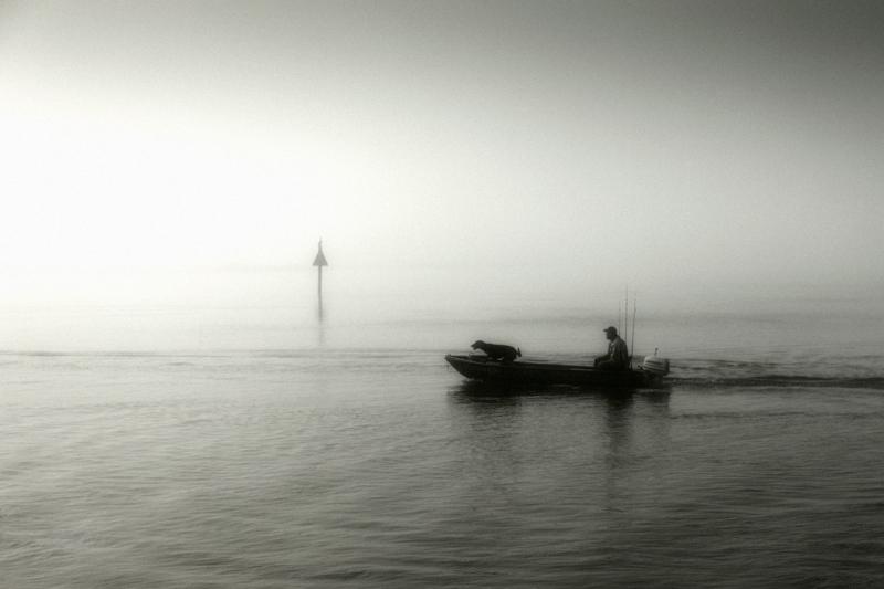 Fotografie Ulla Schaefer aus Leipzig - Arbeiten aus dem Bereich Wasser - Wasser(land)schaft - Monochrom